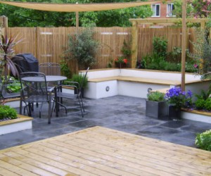 Decking and Slab Patio
