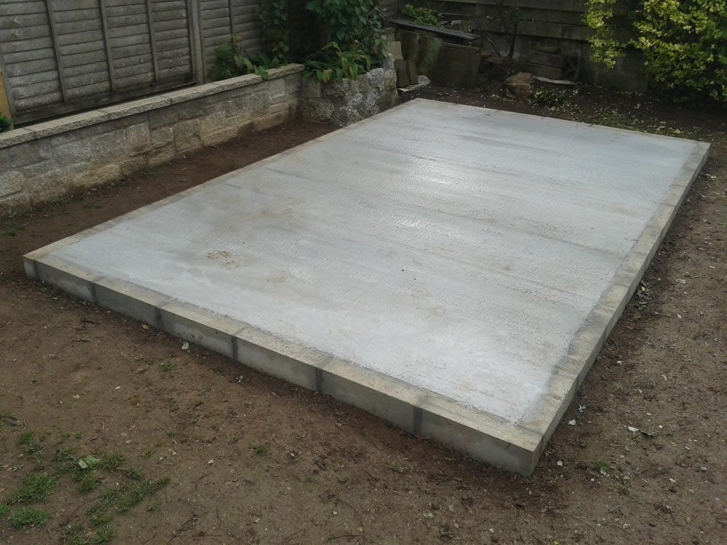 Concrete Shed Base Installers Orpington Bromley Beckenham Sevenoaks